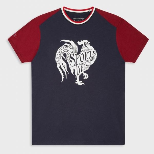 sports-d-epoque-t-shirt-bleu-coq-art-deco-artydandy