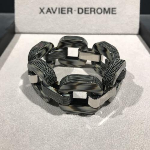 xavier-derome-bracelet-acetate-corne-gris-artydandy