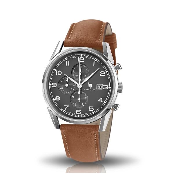 Lip-montre-himalaya-40-mm-chronographe-cadran-gris-artydandy-1