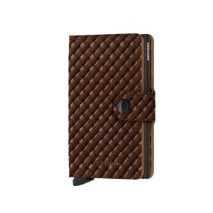 Secrid-porte-cartes-cuir-tresse-marron-front-artydandy