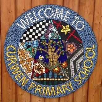 Curwen Primary School playground mosaic project