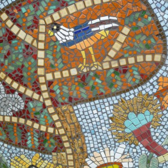 Bigland Green mosaics