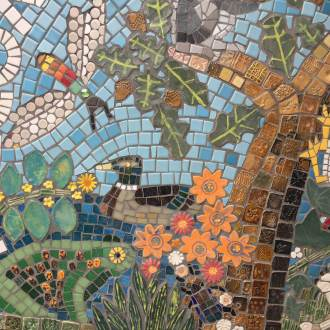 Woodside Primary mosaic