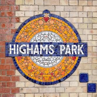 Highams Park roundel