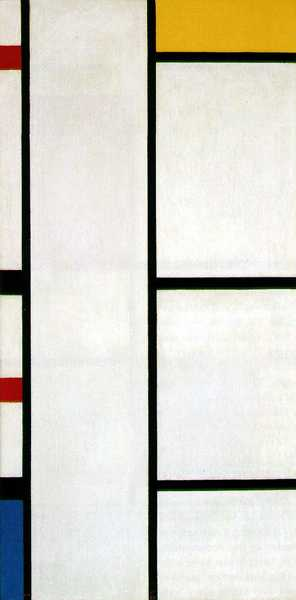 PIET MONDRIAN (1872-1944) 'Composition with White and Yellow', 1942