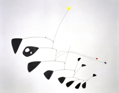 Antennae with Red and Blue Dots, 1953