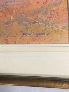 original-watercolour-by-ben-shearer-signed-and-info-on-verso-roads-north-nt5
