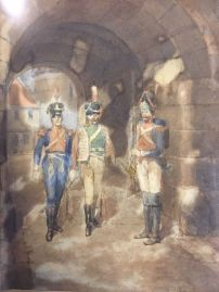 original-watercolour-by-thomas-mackay-england-1851-1909-the-garrison-gate2