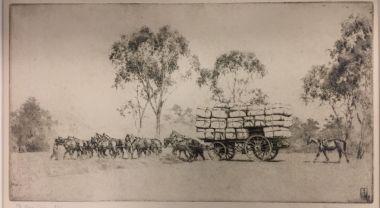 ernest-warner-australian-1879-1968-the-wool-team-etching-2