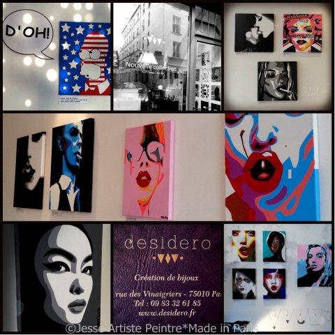 artisie peintre paris, desidero, jesse, artiste, paris, exhibition, exposition