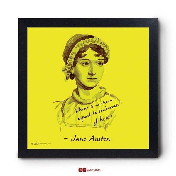 Tenderness-of-Heart|Jane-Austen-Poster|Artykite