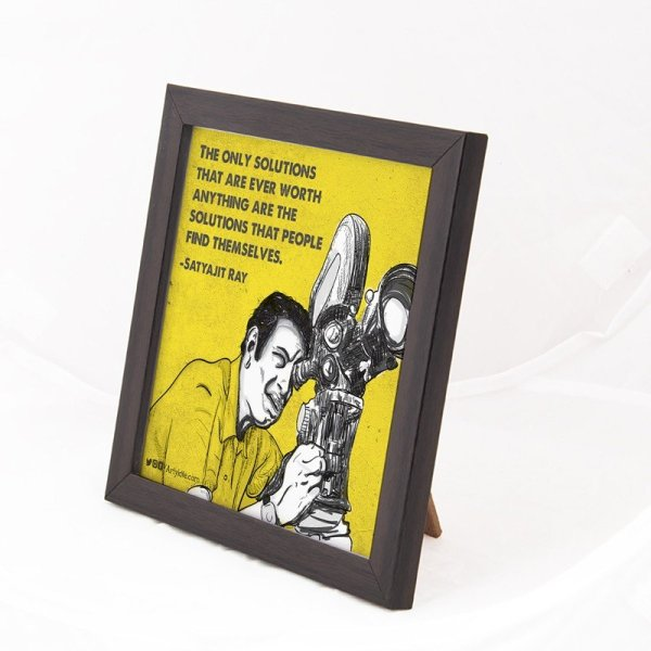 The only solutions- Satyajit Ray Art Frame