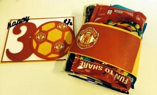 Manchester United Birthday Card & Present