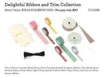 Delightful Ribbon and Trim Collection
