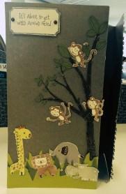 Wild Wonders Baby Card