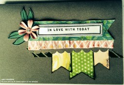 Making Cards from CTMH Workshops on the Go® Brushed Scrapbooking Kit