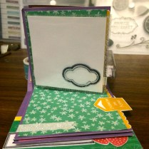 Simply Sublime Mini Scrapbook