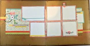 CTMH Zoe Double Page Layout Flip Flap Close