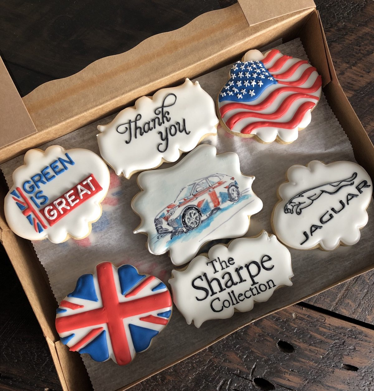 Ann is well known for her logo cookies…and it's obvious why!
