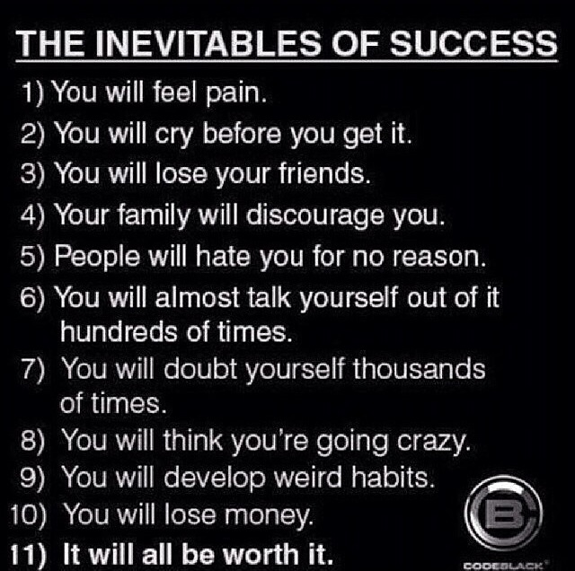 success inevitables