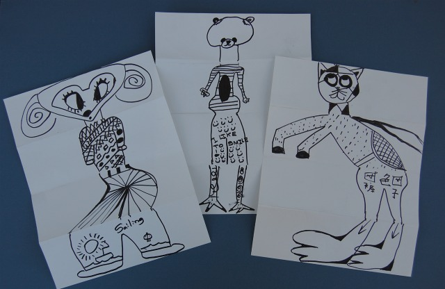 How to Create an Exquisite Corpse