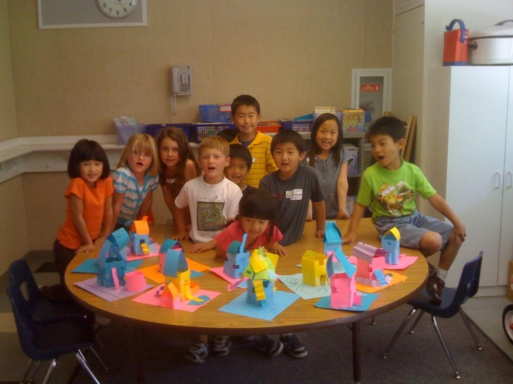 Art Yowza After-School Class: Super Silly Sculptures: Paper Houses