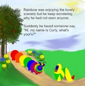 Rainbow meets Curly