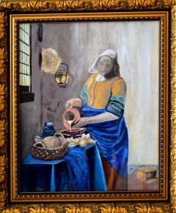 Milkmaid Vermeer