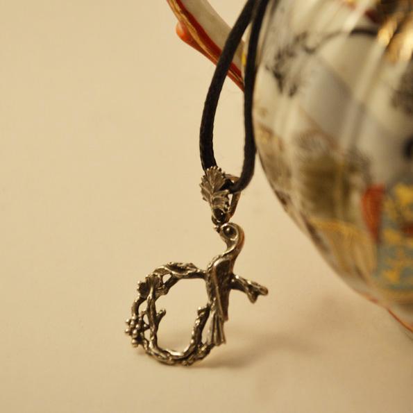 Armenian Handmade Pendant Letter J