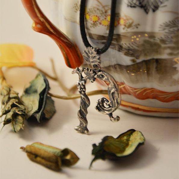 Armenian Handmade Pendant Letter T