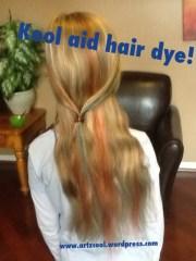kool-aid hair dye results