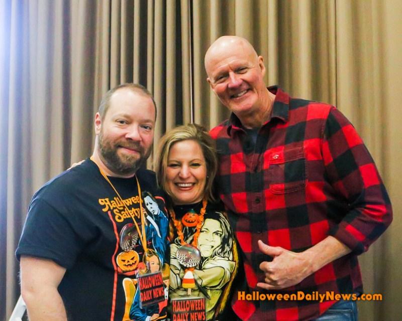 HDN's Matt and Sue Artz with James Jude Courtney