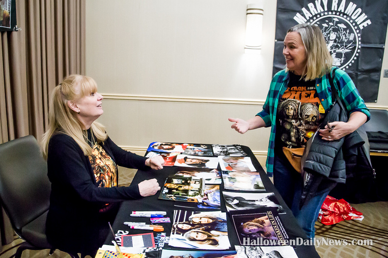 P.J. Soles and Lucinda Jenney