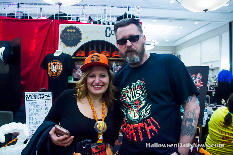 HDN's Sue Artz with Halloween Preservation Society