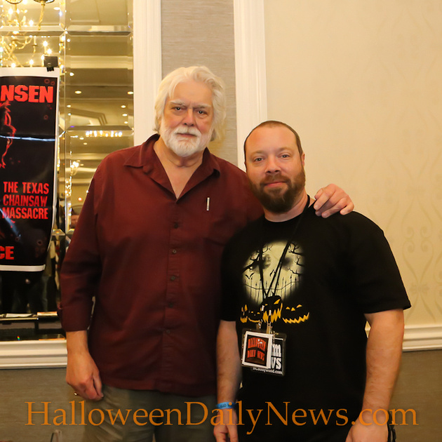 Gunnar Hansen with HDN's Matt Artz