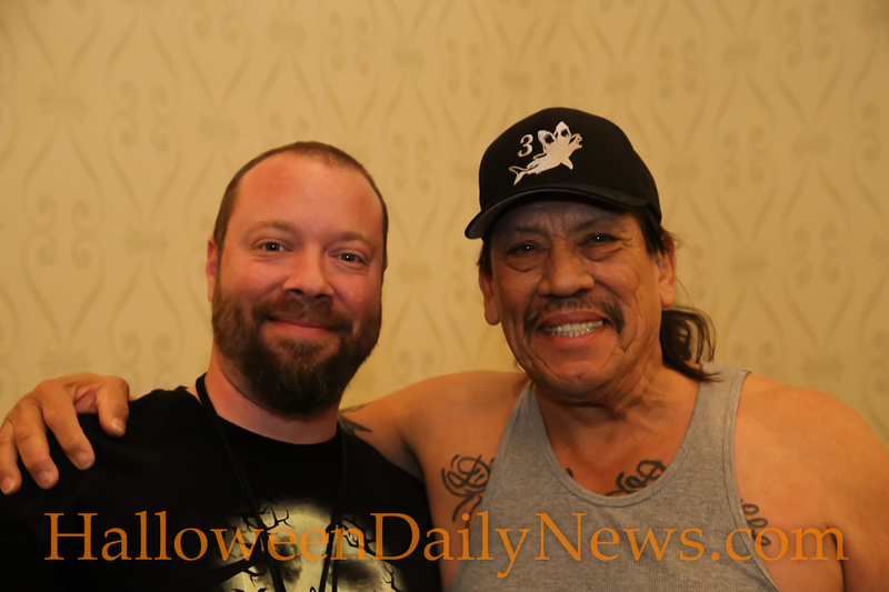 HDN's Matt Artz with Danny Trejo