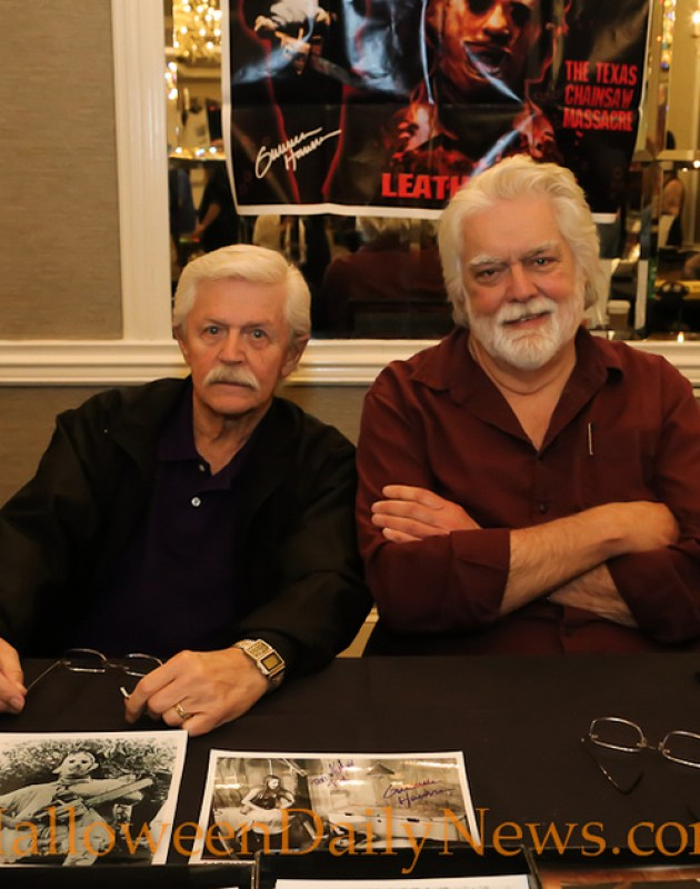 Dick Warlock and Gunnar Hansen