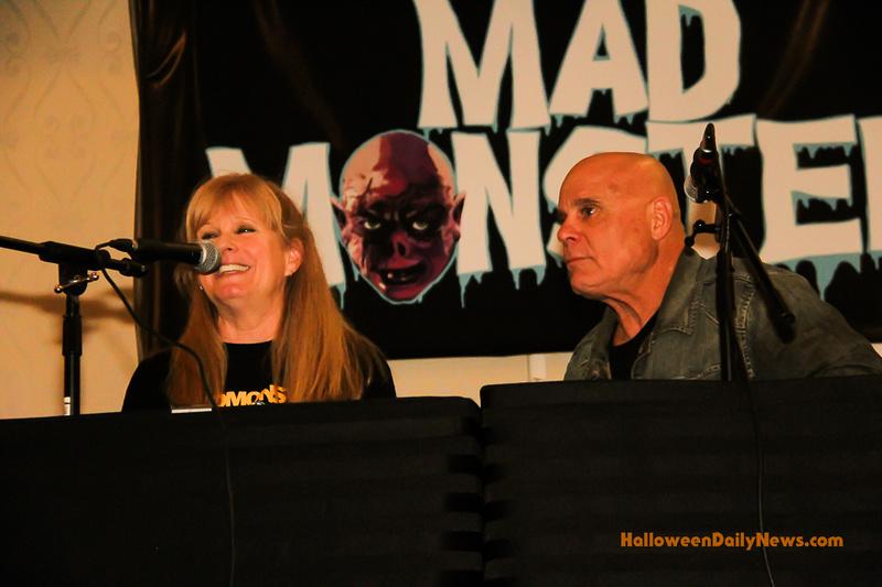 P.J. Soles and Tony Moran