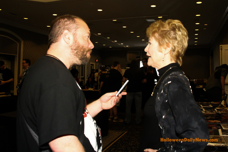 HDN's Matt Artz interviewing Dee Wallace