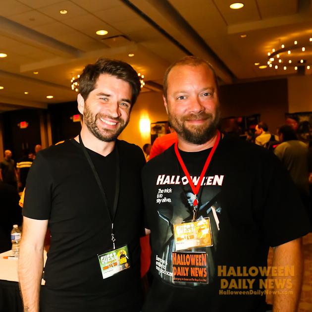 Erik Preston with HDN's Matt Artz