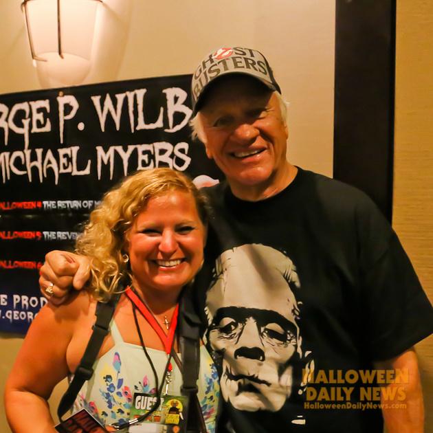 HDN's Sue Artz with George P. Wilbur