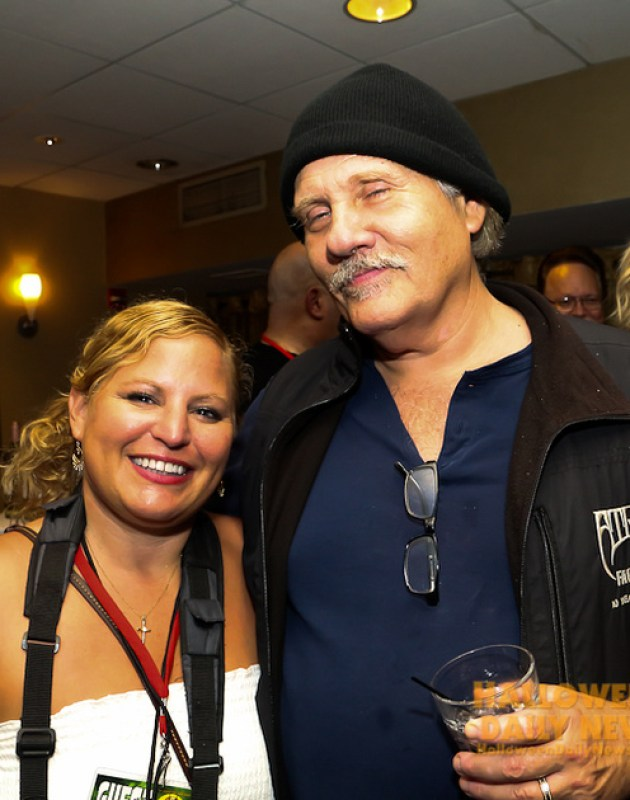 HDN's Sue Artz with William Forsythe