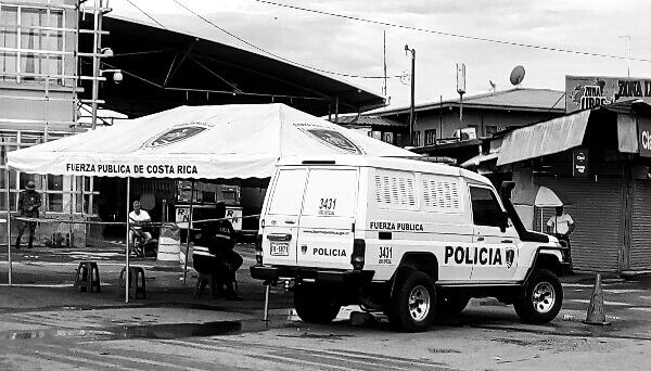 Paso Canoas, Costa Rica eta Panamaren arteko muga.