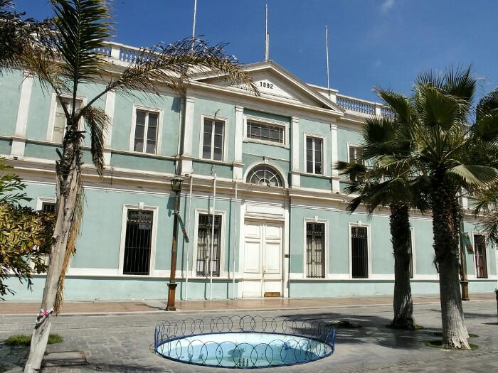 Museo Regional. Iquique, Txile.