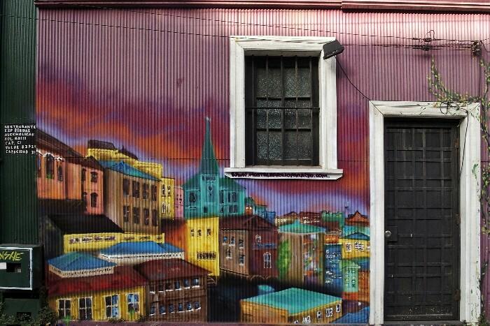 Valparaiso. Txile.