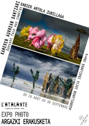 Baionako L'Atalante-ko erakusketaren afitxa.