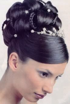 High Bun Hairstyles For Prom Fusion Hair Extensions Nyc