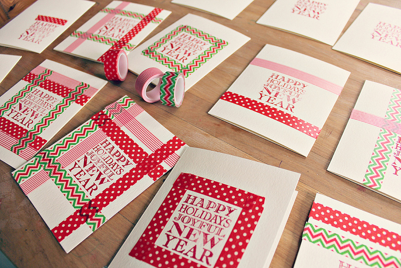 15 Wonderful Washi Tape Projects For The Holidays