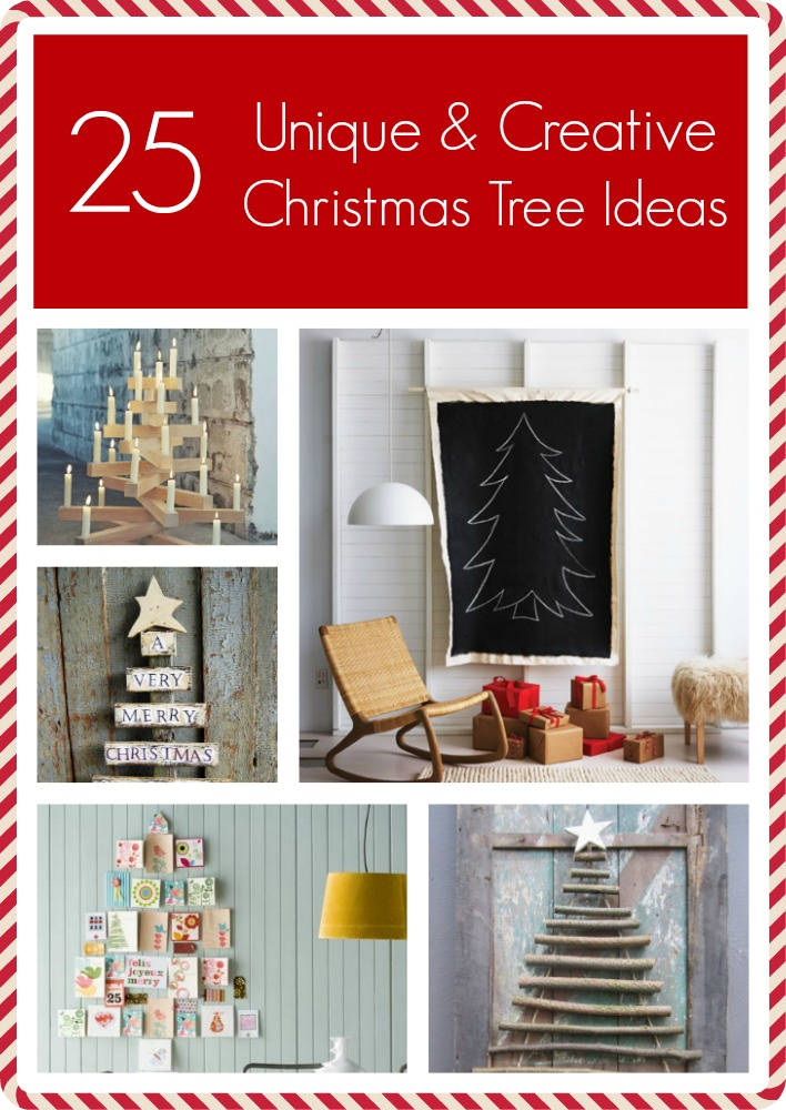 25 Creative And Unique Christmas Trees  Artzycreationscom