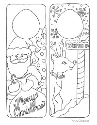 Free Printable Christmas Door Hangers For Kids ...